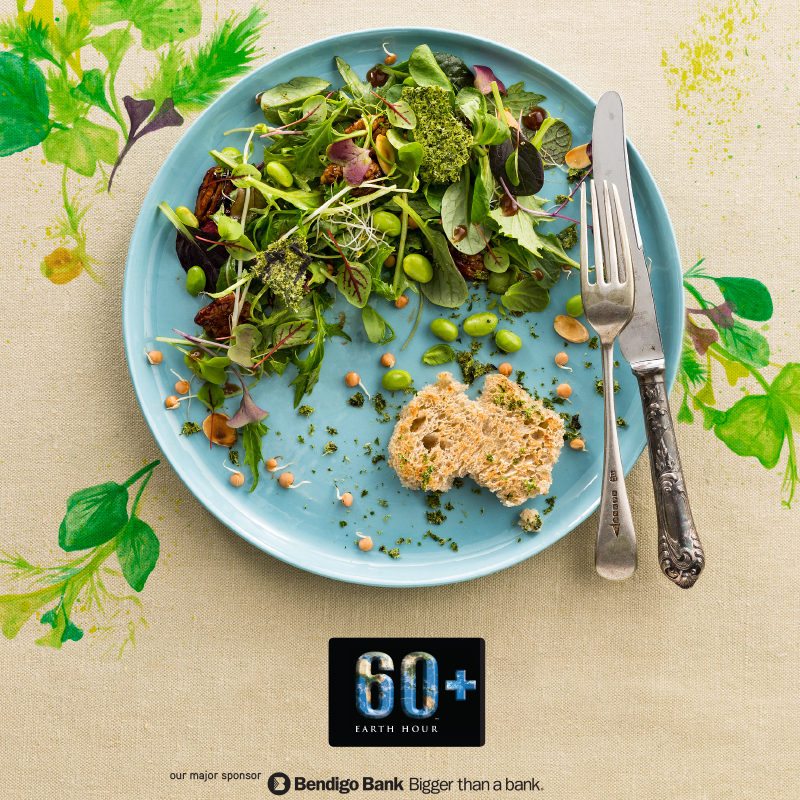 Earth Hour cookbook