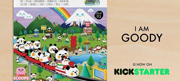 I AM GOODY – A revolutionary children's magazine on Kickstarter